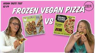 Fry's Smokey BBQ Pizza VS Coles Vegan Pizza, Which Is Best? - VEGAN TASTE TEST S2E4