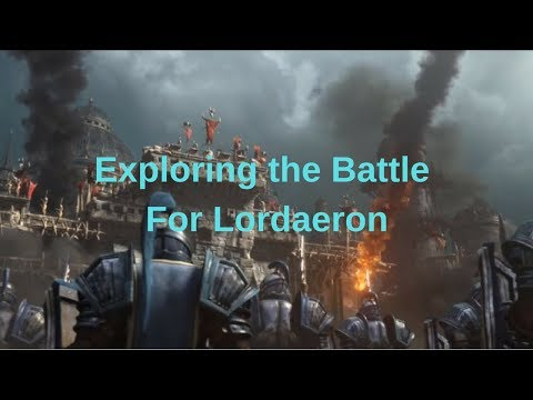 Exploring the Battle For Lordaeron (New editing software)
