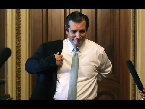 Ted Cruz Fills Few Hours Of Marathon Speech With Rousing Pro-Obamacare Argument