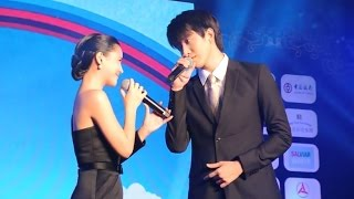 Aom Mike ออม ไมค์ - You Dian Tian(A Little Sweet) @Thailand Weibo Night 2014 24Nov14 [cam