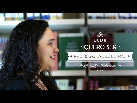 Quero ser Profissional de Letras - Letras UCDB