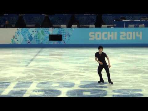 Han YAN 選手で ジャンプを見分けよう『2014ソチオリンピック FS練習』編