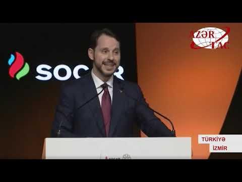 """Türkiyənin İzmir şəhərində """"Star"""" neft emalı zavodunun açılış mərasimi olub"""