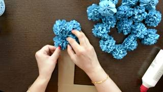 DIY Floral Alphabet/Number for Birthday/Anniversary