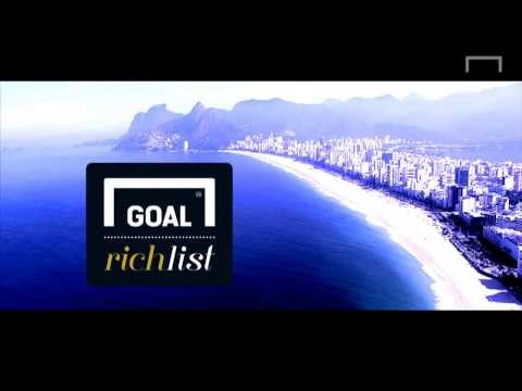 Who's the wealthiest footballer in the world? Goal Rich List... Coming soon