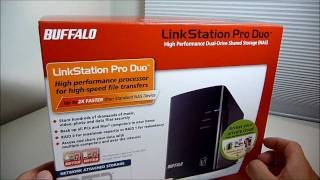 Buffalo LinkStation Duo Pro Unboxing, Setup, and Review (HD)