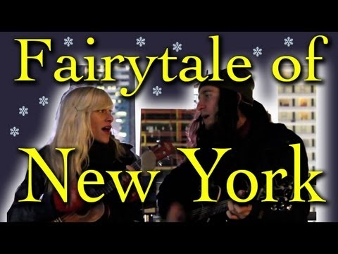 Fairytale of New York - Gianni and Sarah (Walk off the Earth) Music Videos