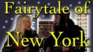 Fairytale of New York - Gianni and Sarah (Walk off the Earth)