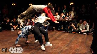FLOOR WARS 2011 | 3on3 Bboy Battle Recap