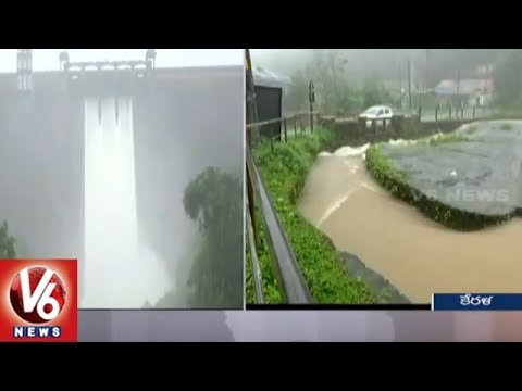 Heavy Rains Trigger Landslides And Flash Floods In Kerala | Weather Update | V6 News