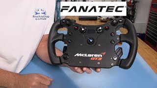 Fanatec Mclaren GT3 Wheel Review