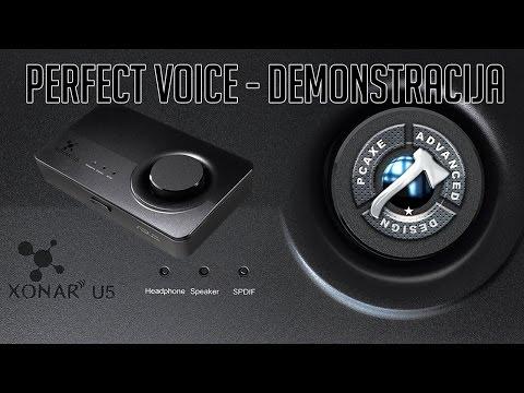 ASUS Xonar U5 Perfect Voice Tehnologija [PCAXE.COM]