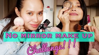 No Mirror Make up Challenge feat Shanta Woolley | DOCTOR VLOGGER