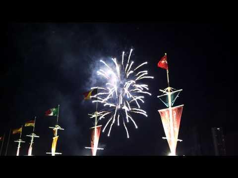 Krit Tennis Asiatique firework