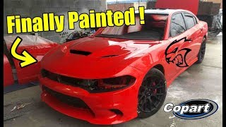 Rebuilding my wrecked charger hellcat part 11