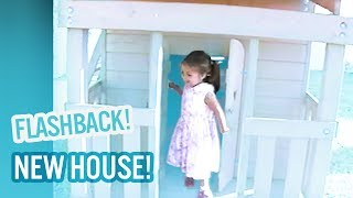 Surprise!  We bought Baby Ariel and Jacob a new house!