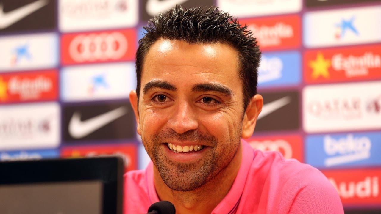 Xavi Hernández's farewell press conference
