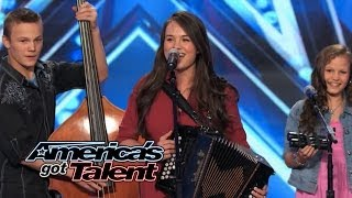 "The Willis Clan: Band of Siblings Impress With ""Sound of Music"" Cover - America's Got Talent 2014"