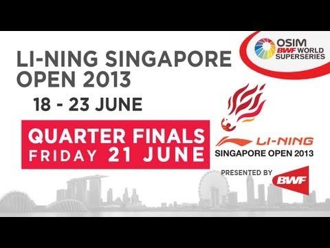 QF - WS - Lindaweni Fanetri vs Saina Nehwal - 2013 Li-Ning Singapore Open