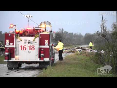 1-17-16 Duette, Florida *Deadly Tornado Damage*