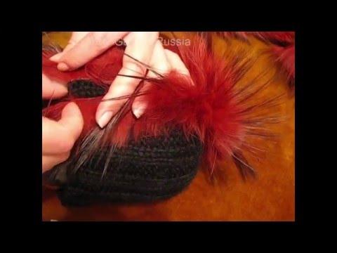 Как сшить шапку из меха кусочки 89
