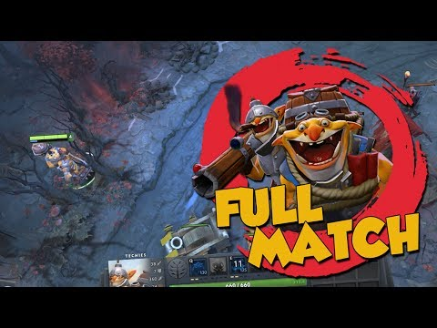 WHO NEEDS GREEN MINES ANYWAY? - DotA 2 Techies Full Ranked Match