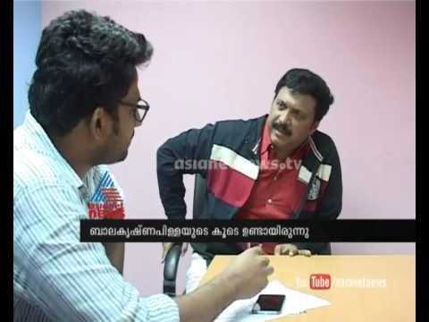 R Balakrishna Pillai meet Oommen Chandy says Ganesh Kumar