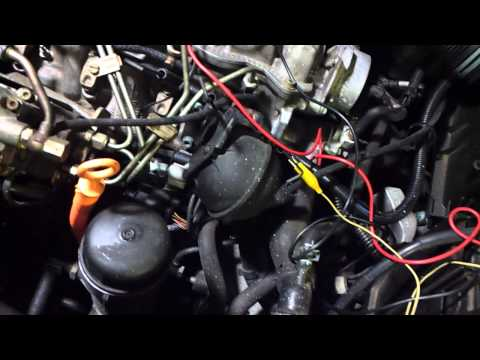 Test VW Jetta TDi glow plugs and harness