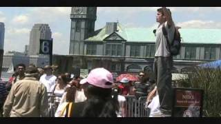 New York City Open Air Preaching Battery Park pt 1