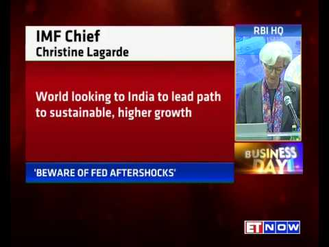 IMF Chief Christine Lagarde Lauds RBI Governor Raghuram Rajan's Measures