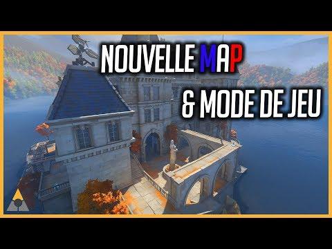 NOUVELLE MAP & MODE DE JEU (Combat à mort) - OVERWATCH FR