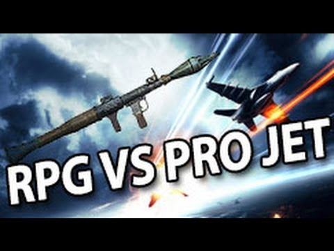 Battlefield 3 - RPG vs Pro jet pilot