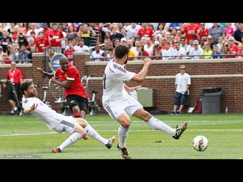 Ashley Young Goal!!! Manchester United 3-1 Real Madrid International Champions Cup