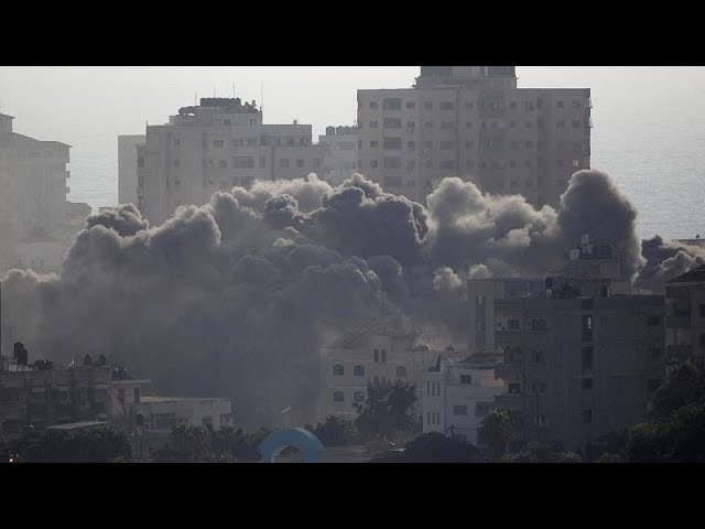 Israel pounds Hamas targets in Gaza