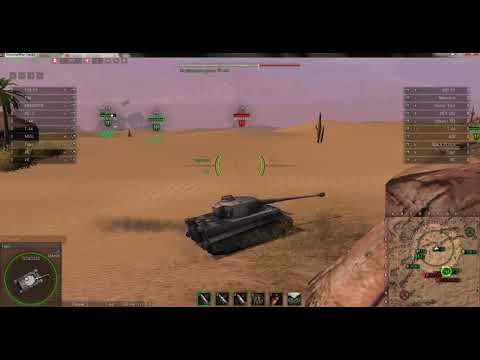 Ground War Tanks Тигр Tiger Аль Карфаг