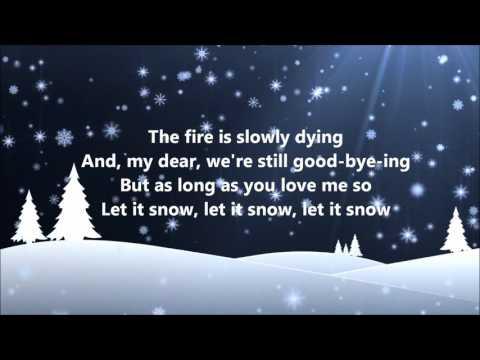 Dean Martin - Let It Snow (Lyrics)