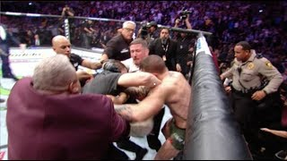 CONOR MCGREGOR GETS JUMPED AFTER FIGHT UFC 229