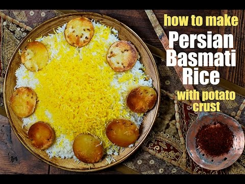 How to Make Persian Basmati Rice with Saffron