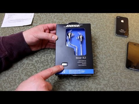 BOSE IE2 - In-ear Headphones - UnBoxing + How to determine a genuine product & not a fake