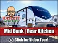 MID BUNK 2020 Cougar 31MBS Full Time Warranted Keystone Travel Trailer