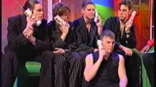 Take That on Live & Kicking - Interview and phonecalls from fans - 1993
