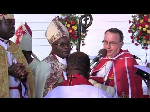 Consecration of Bishop Kunyunyu in Tanzania