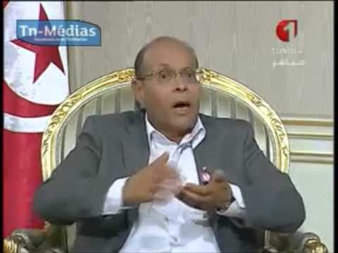 LE PRESIDENT MOHAMED MONCEF MARZOUKI - ZAPPING 2012