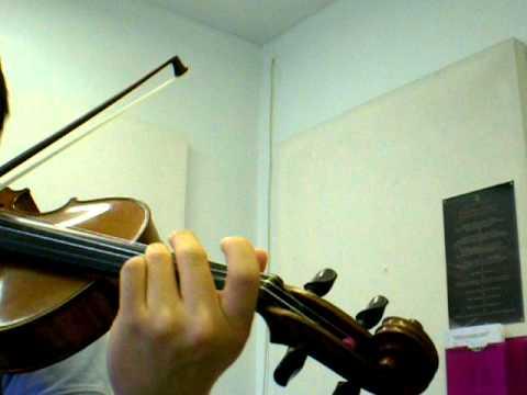 Suzuki violin volume 1 number 17 Gavotte by F. J. Gossec.AVI