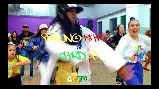 Download Lagu Bruno Mars - Finesse (Remix) [Feat.Cardi B] [Choreography] Gratis STAFABAND