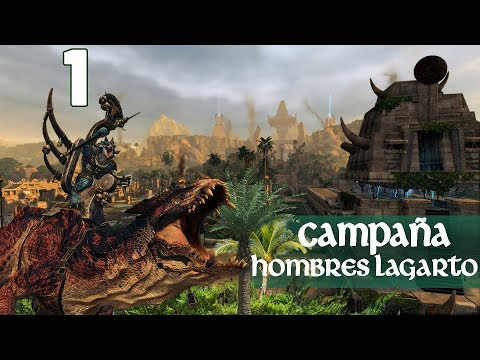 Download video Total War WARHAMMER 2 | Campaña Hombres Lagarto- Episodio 1