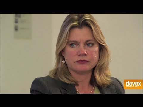 A new development model (Conversation with Justine Greening)