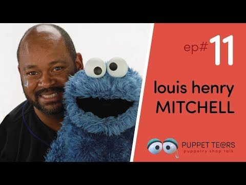 Puppet Tears, ep 011 — Louis Henry Mitchell, Creative Director of Character Design @ Sesame Workshop