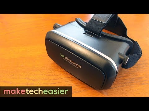 VR Shinecon Virtual Reality headset REVIEW