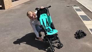 POCKIT compact stroller ポキットベビーカーの開き方・畳み方 good baby
